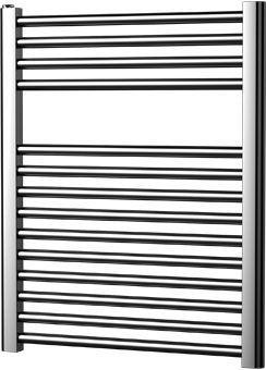 Plieger Palermo designradiator horizontaal 688x550mm 244W chroom