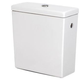 Plieger Plus duoblokreservoir met binnenwerk dual-flush wit