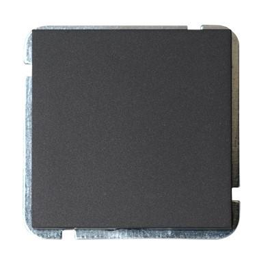 Plieger Sol blindplaat zwart mat