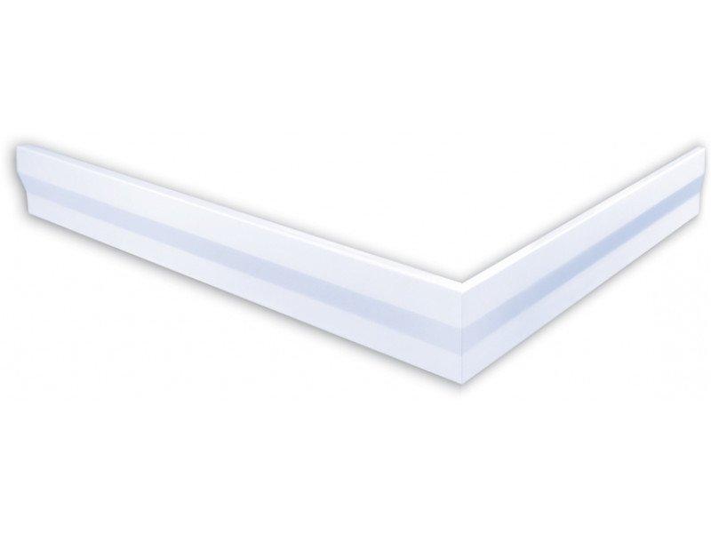 Polysan hoekpaneel voor Varesa douchebakken 100x80x11cm links