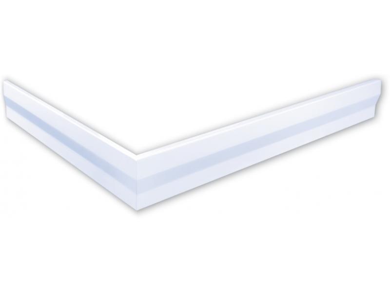 Polysan hoekpaneel voor Varesa en Karia douchebakken 110x90x11cm rechts