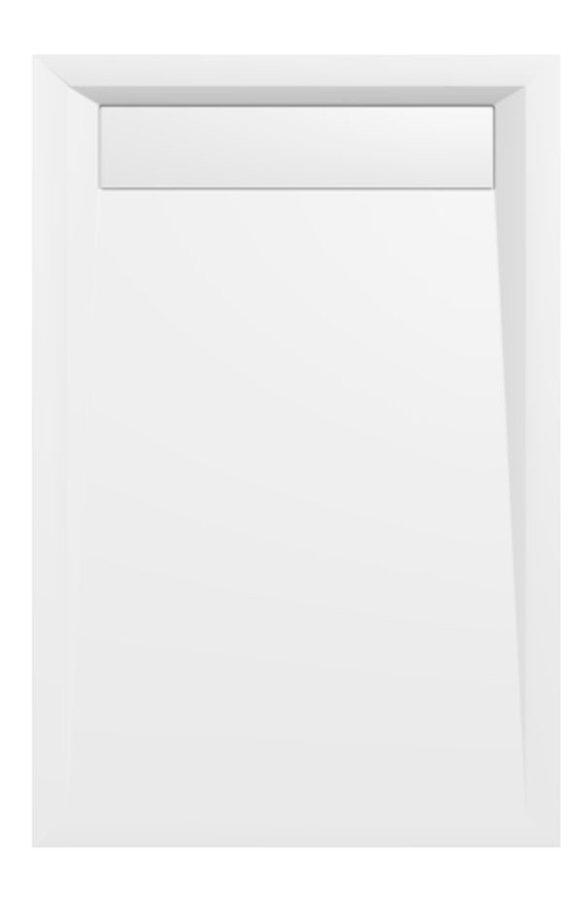 Polysan Varesa rechthoekige douchebak 120x80cm wit