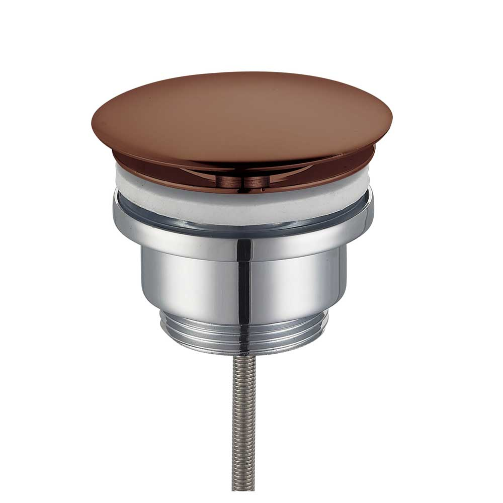 Qisani Design vaste afvoerplug copper