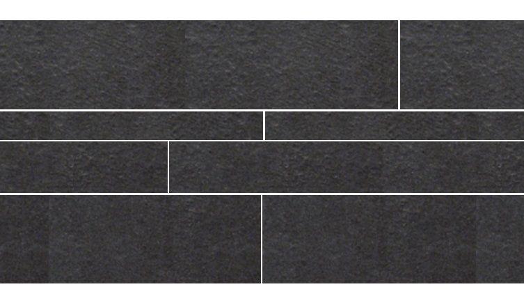 Rak Gems GPD 57 R zwart stroken mix