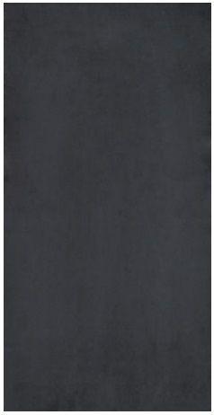 Rak Gems GPD 57UP zwart vloertegel 45x90