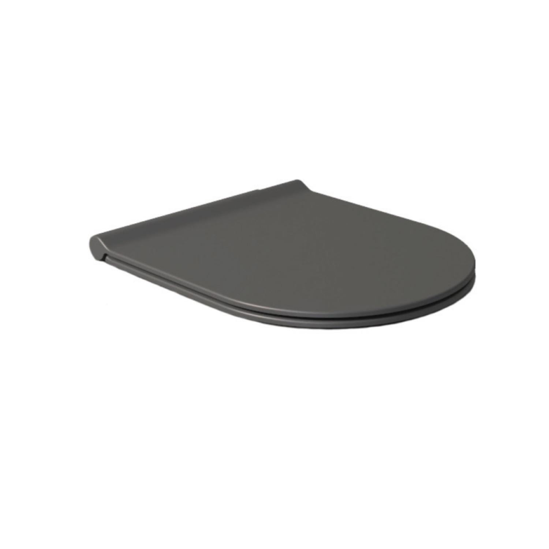 Salenzi Form Slim toiletzitting mat antraciet
