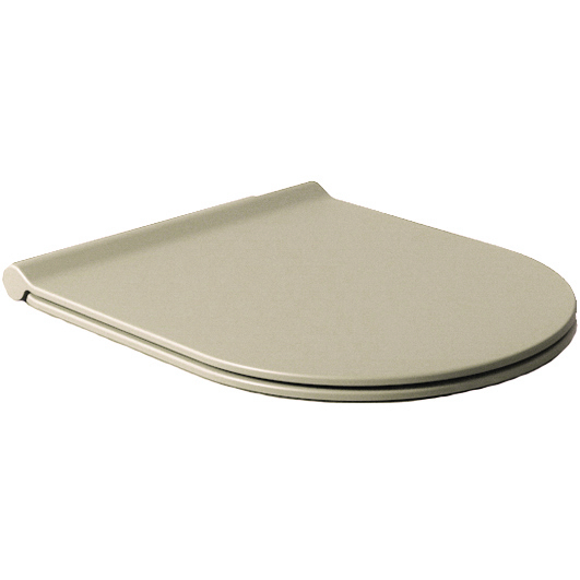 Salenzi Form Slim toiletzitting mat taupe