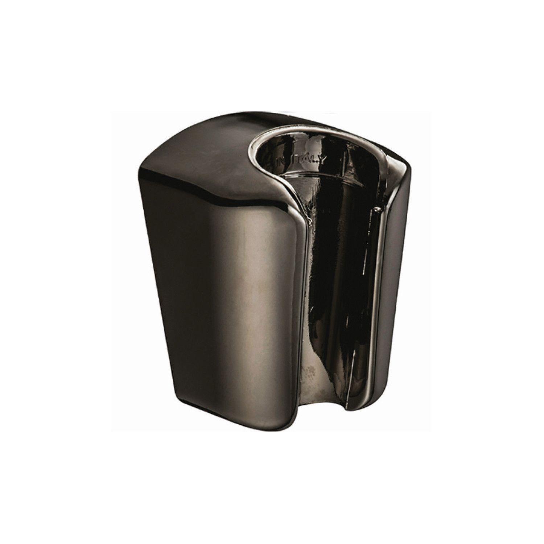 Salenzi Giro opsteek handdouche houder zwart chroom