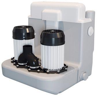 Sanibroyeur Sanicom vuilwaterpomp Sanicom 2 Expert-line v. een projectmatige-huishoudelijk gebruik 4
