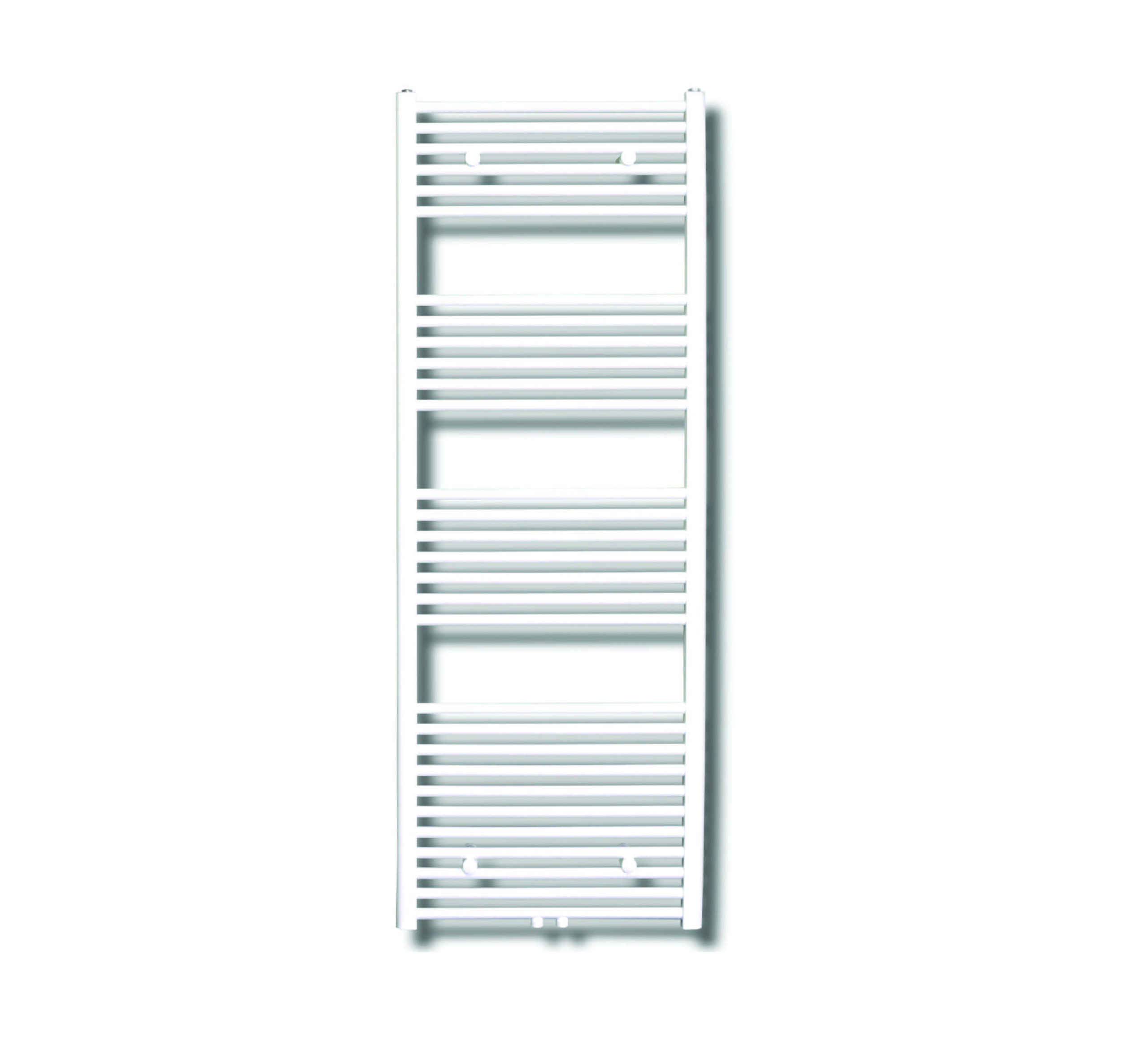 Sanicare design radiator midden aansluiting recht 160 x 45 cm. wit