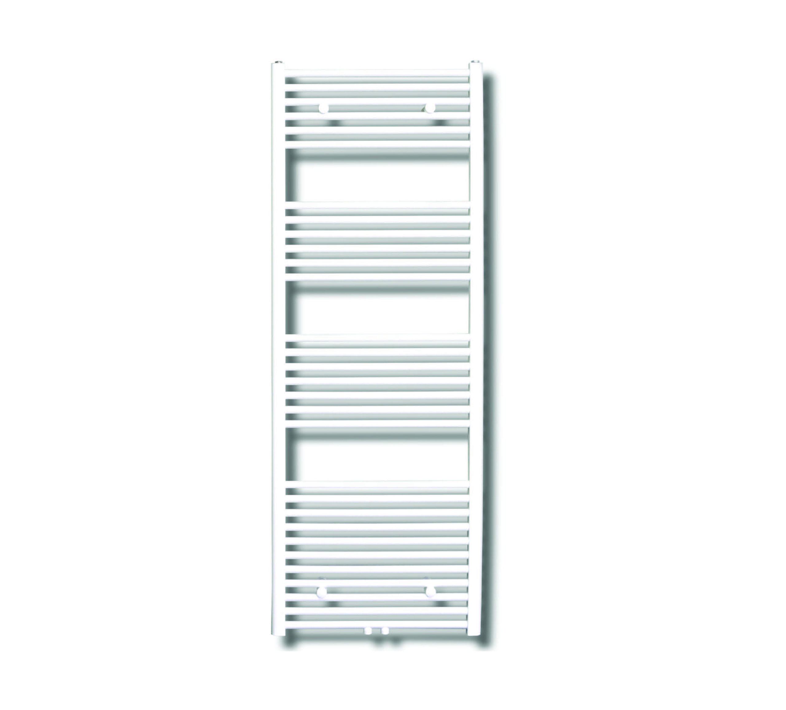 Sanicare design radiator midden aansluiting recht 160 x 60 cm. wit