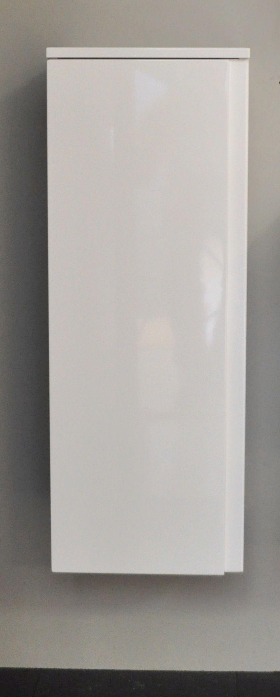 Sanicare Q7 half hoge kolomkast 90x33,5x32 cm. hoogglans wit