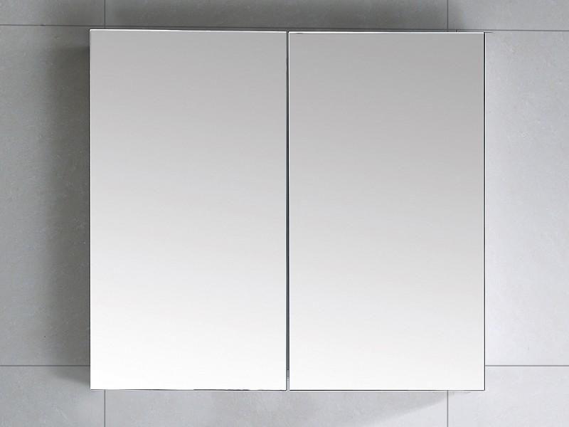 Saniclear Basic Spiegelkast 66 zijdeglans zwart