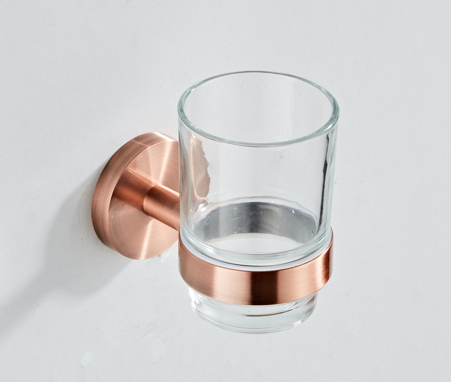Saniclear Copper glashouder geborsteld koper