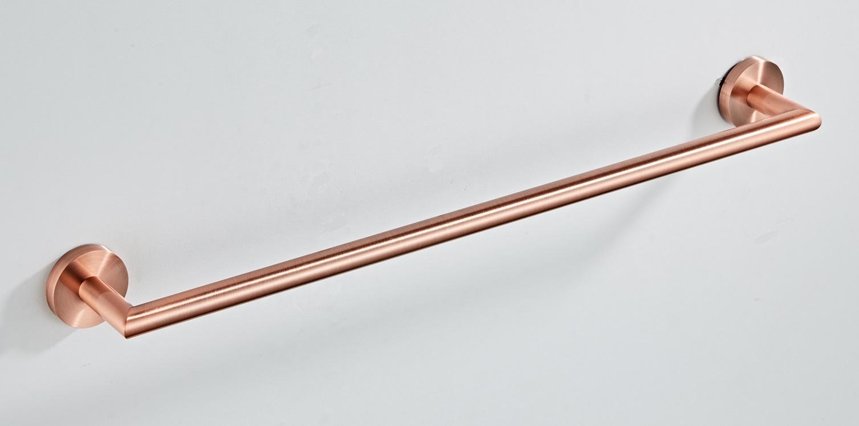 Saniclear Copper handdoekhouder 60cm geborsteld koper