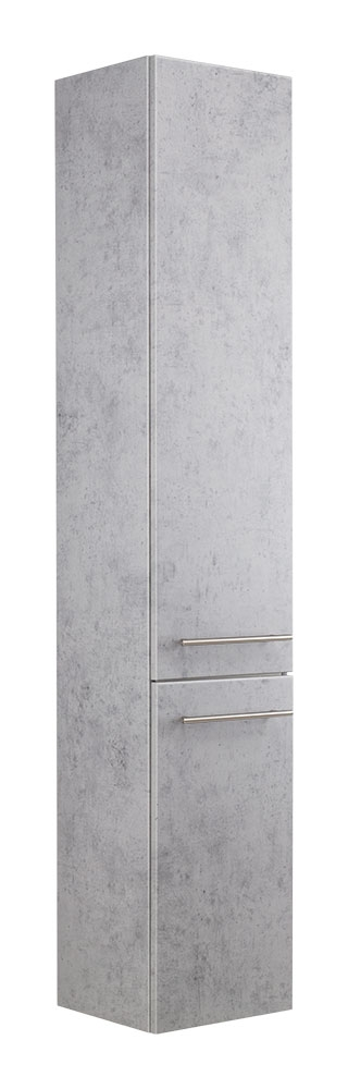 Saniclear Laundry Kolomkast beton grijs 35x180