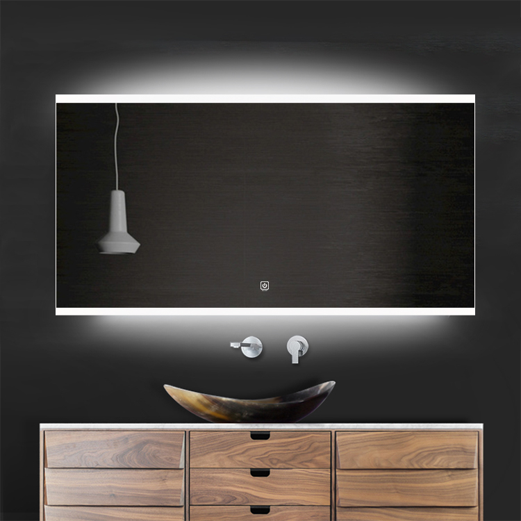 Saniclear Riga LED spiegel 90x70cm met spiegelverwarming kopen doe je het voordeligst hier