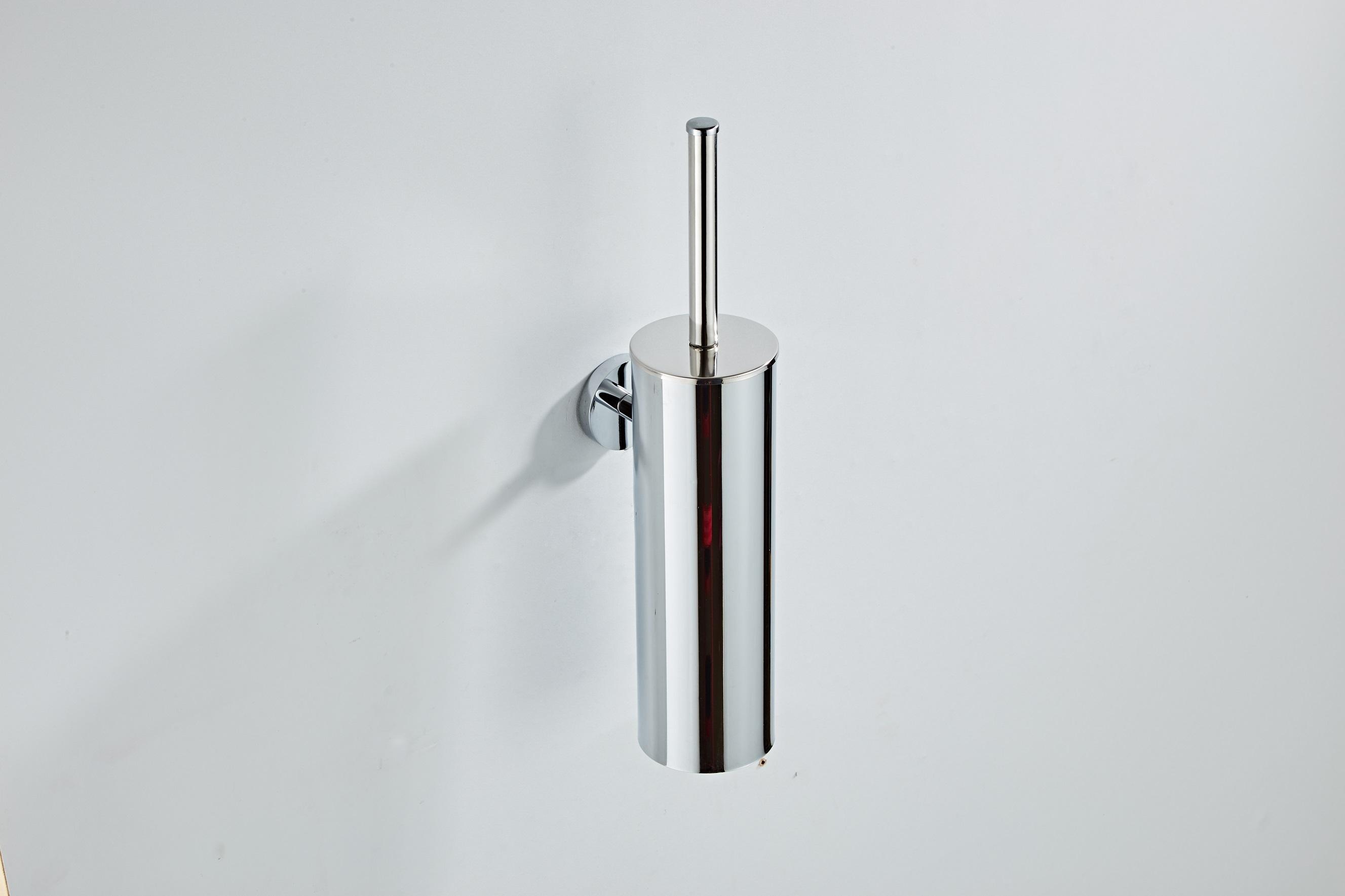 Saniclear Talpa toiletborstel met wandhouder chroom