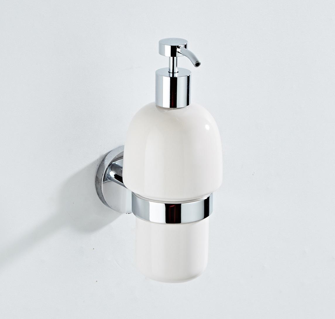 Saniclear Talpa zeepdispenser chroom