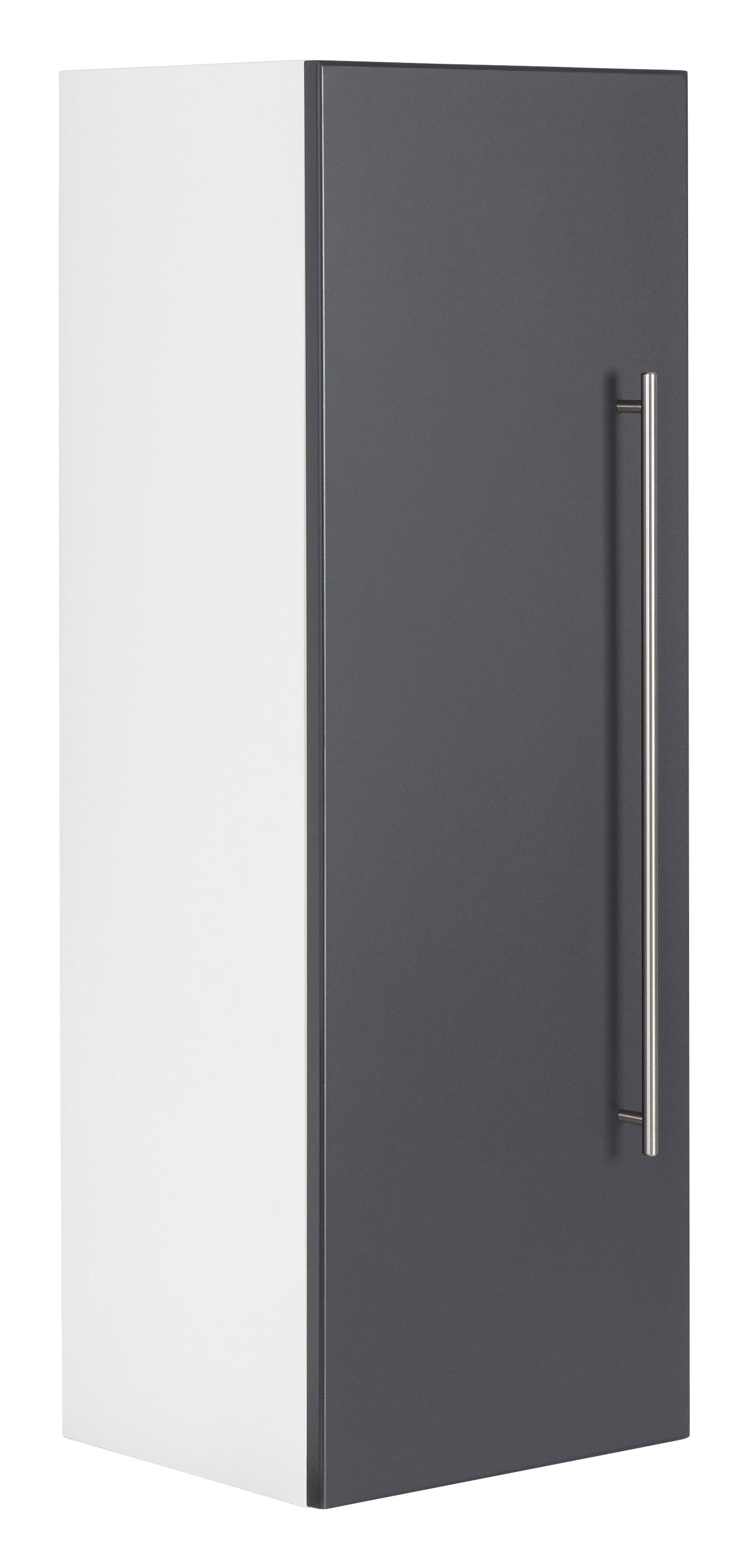 Saniclear Viva kolomkast 100x35x30cm antraciet
