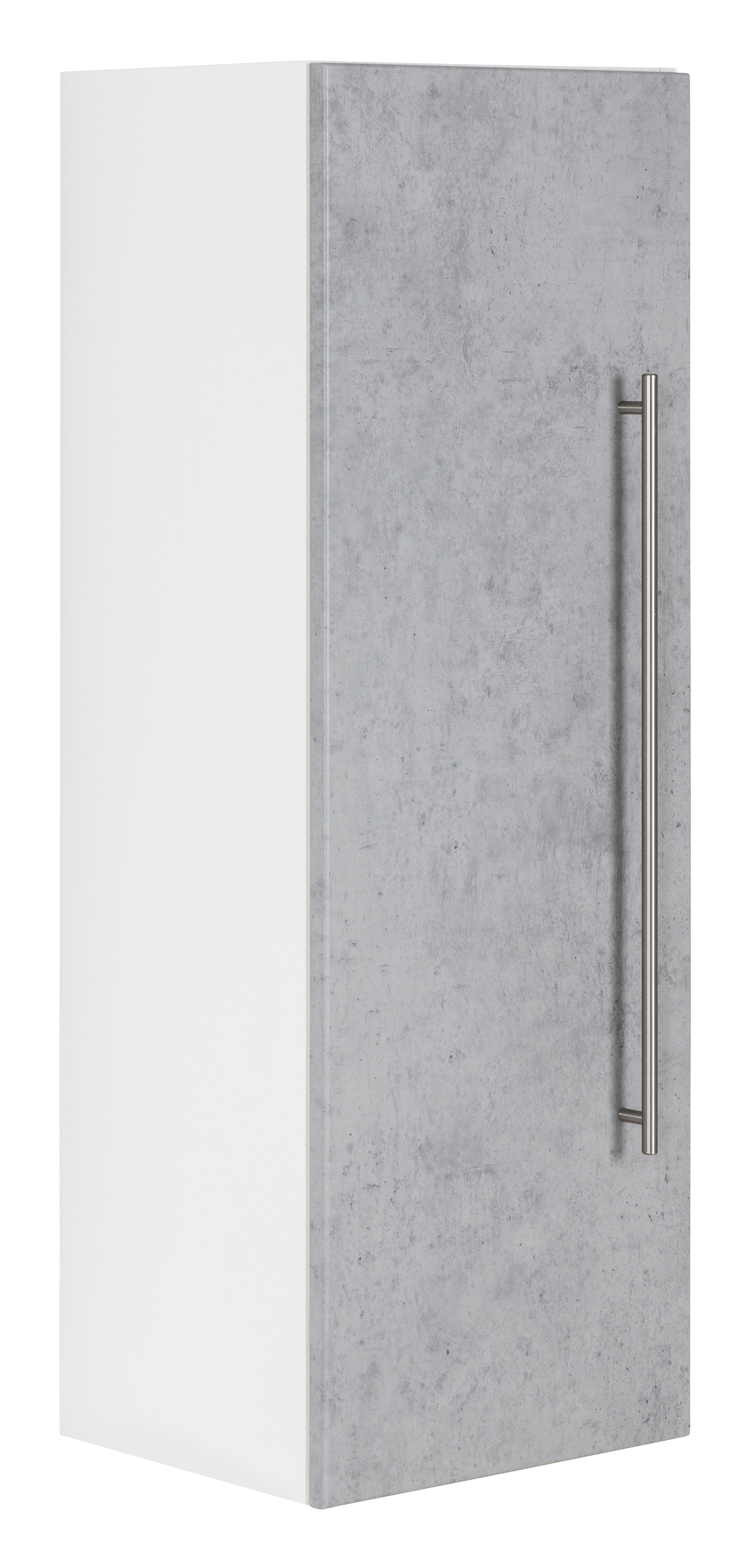 Saniclear Viva kolomkast 100x35x30cm betongrijs