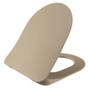 Sanigoods Alpha soft-close toiletzitting mat cappuccino