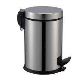 SaniGoods Crea vuilnisbak chroom 4 liter