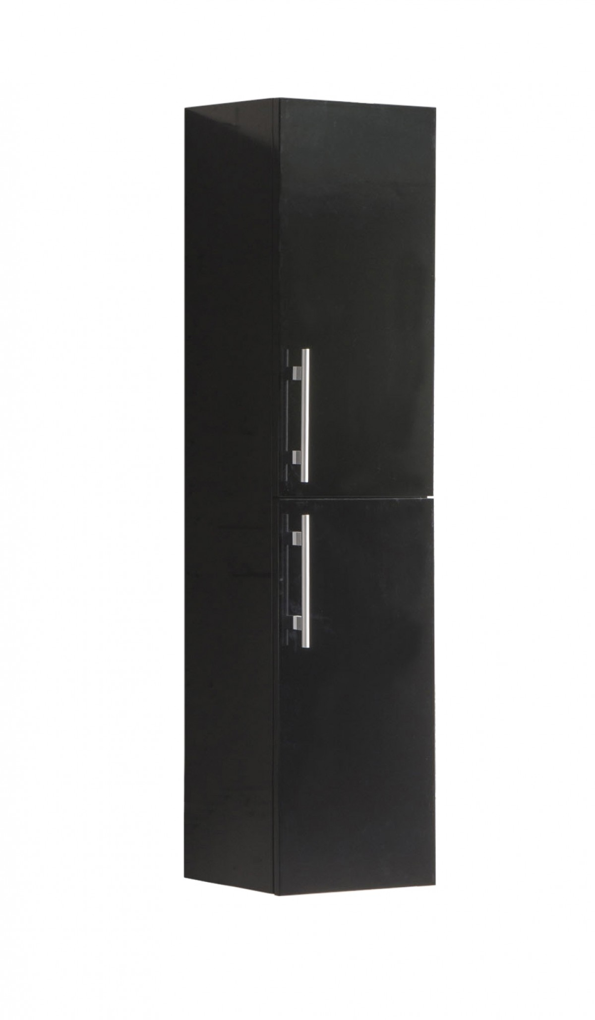 SaniGoods Giant kolomkast 120x30cm hoogglans zwart