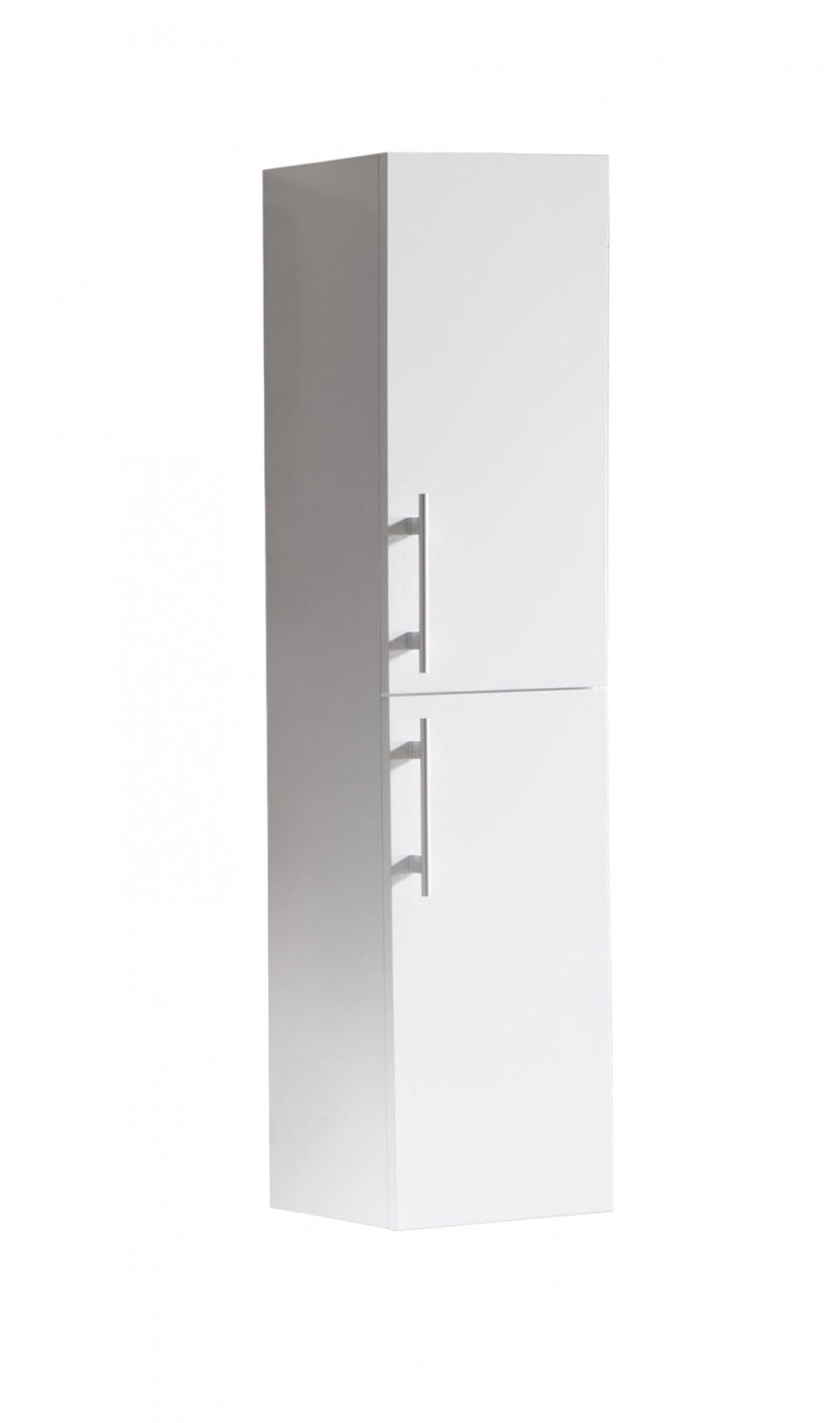 SaniGoods Giant kolomkast 120x30cm hoogglans wit