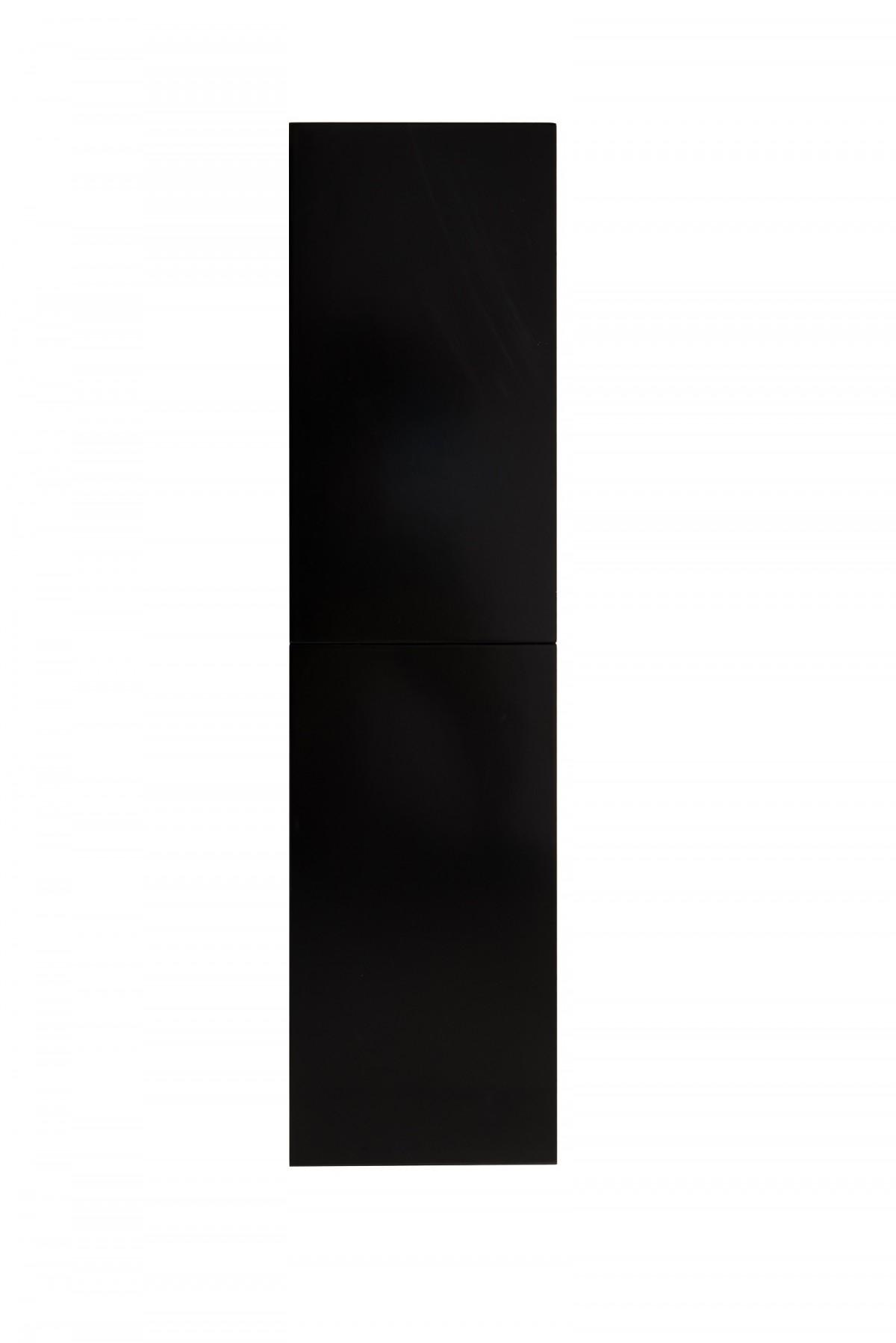 SaniGoods Giant kolomkast 140x35cm hoogglans zwart