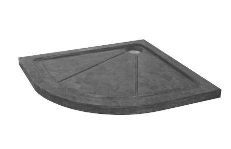 Saniscape Fabiana Douchebak 90x90x5cm kwartrond natuursteen