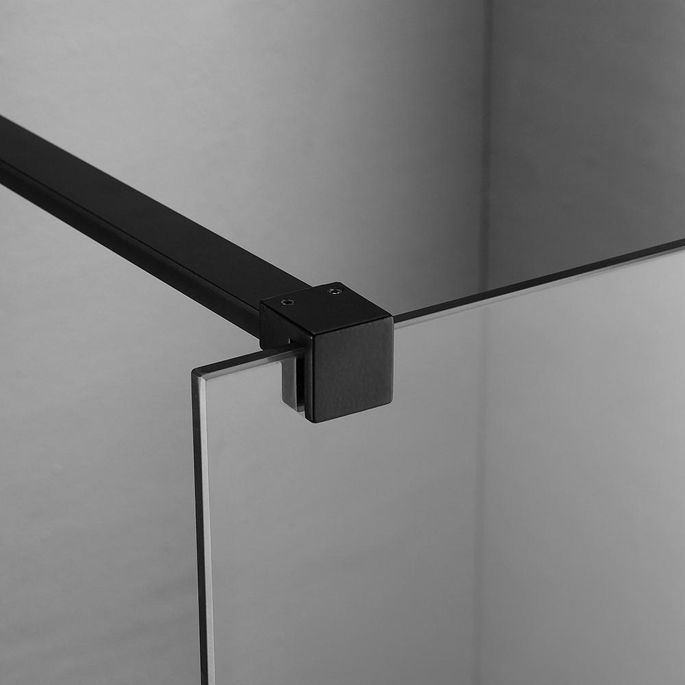 Sanituba aluminium stabilisatiestang 150cm voor de Dark serie zwart