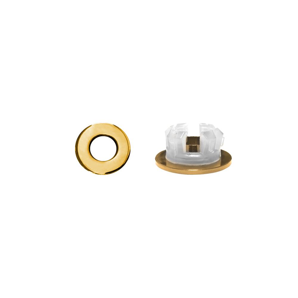 Overloopring Sanitop Voor Wastafel 30mm Goud (Geschikt voor 18 t-m 25 mm)