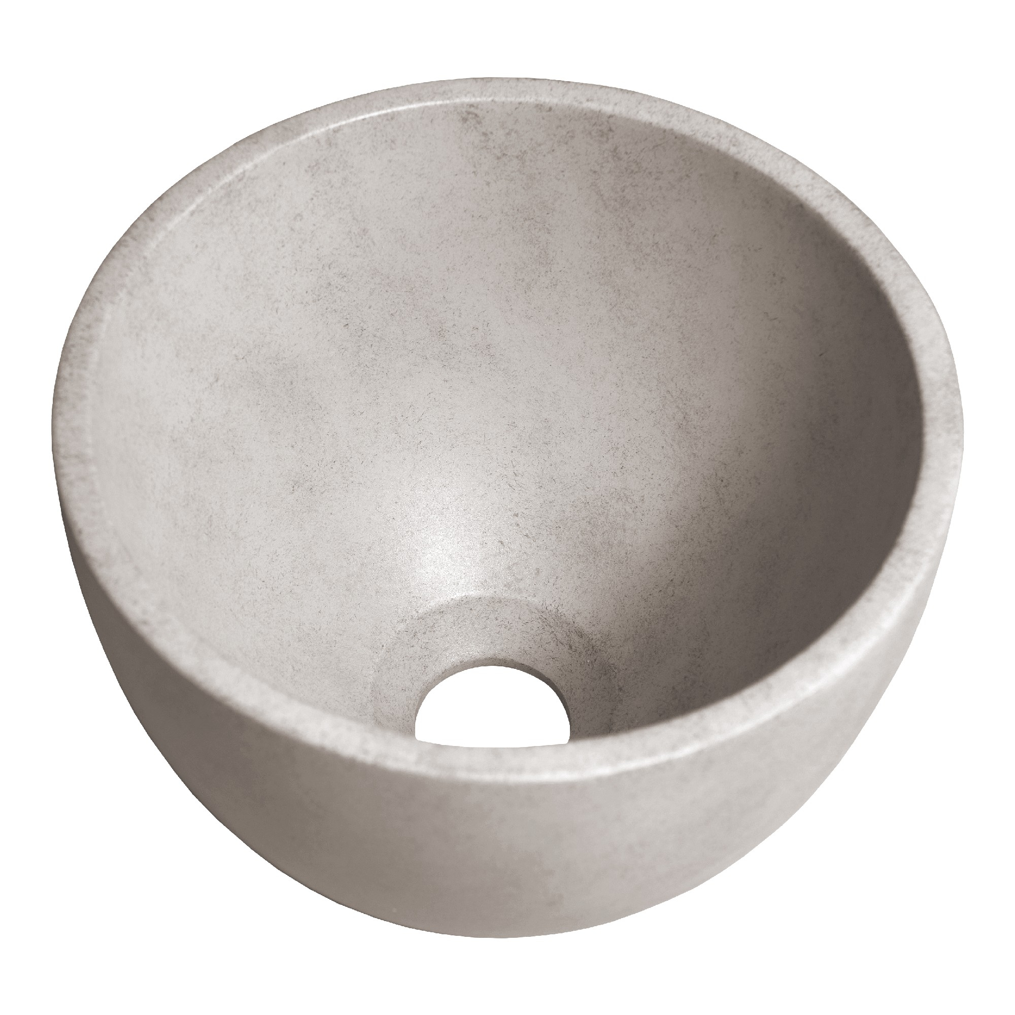 Sanituba Concrete kleine waskom beton 22.5x15.5 centimeter