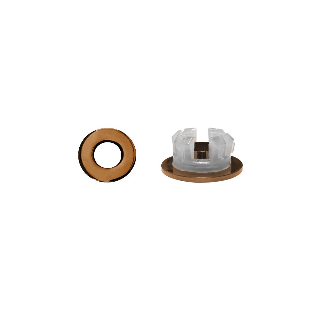 Overloopring Sanitop Voor Wastafel 30mm Koper (Geschikt voor 18 t-m 25 mm)