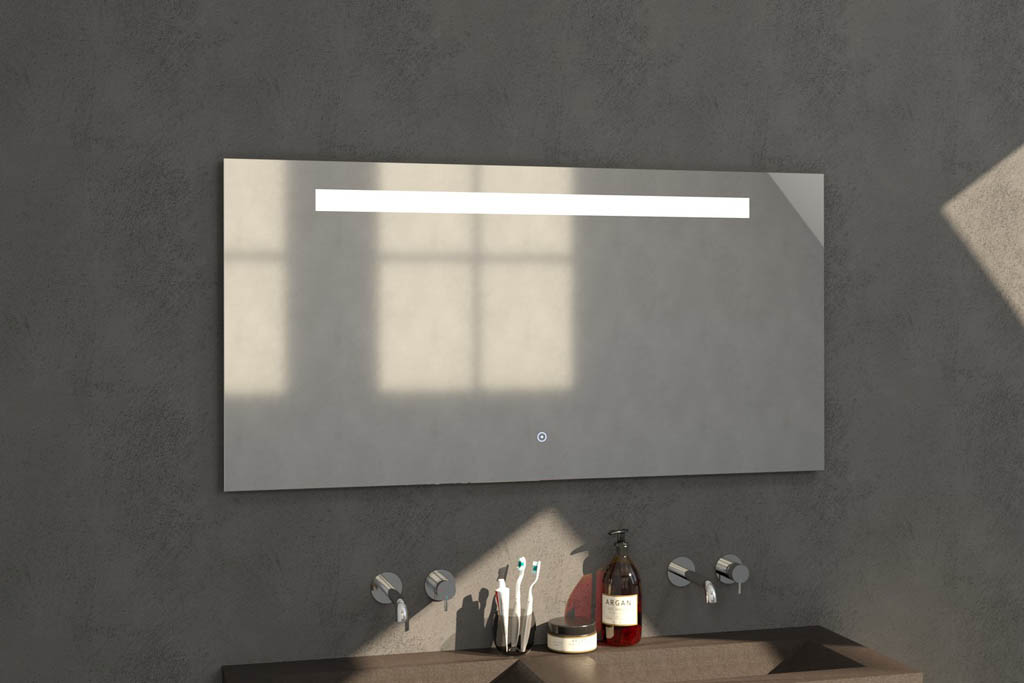 Badkamer Spiegels Spiegel met verlichting