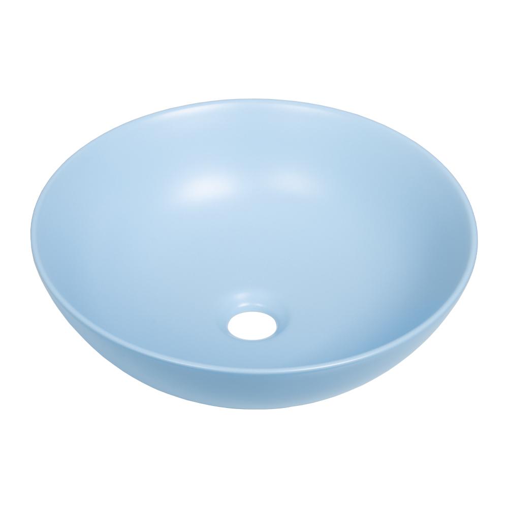 Sanituba Pastello Azzuro ronde waskom 40cm pastel blauw