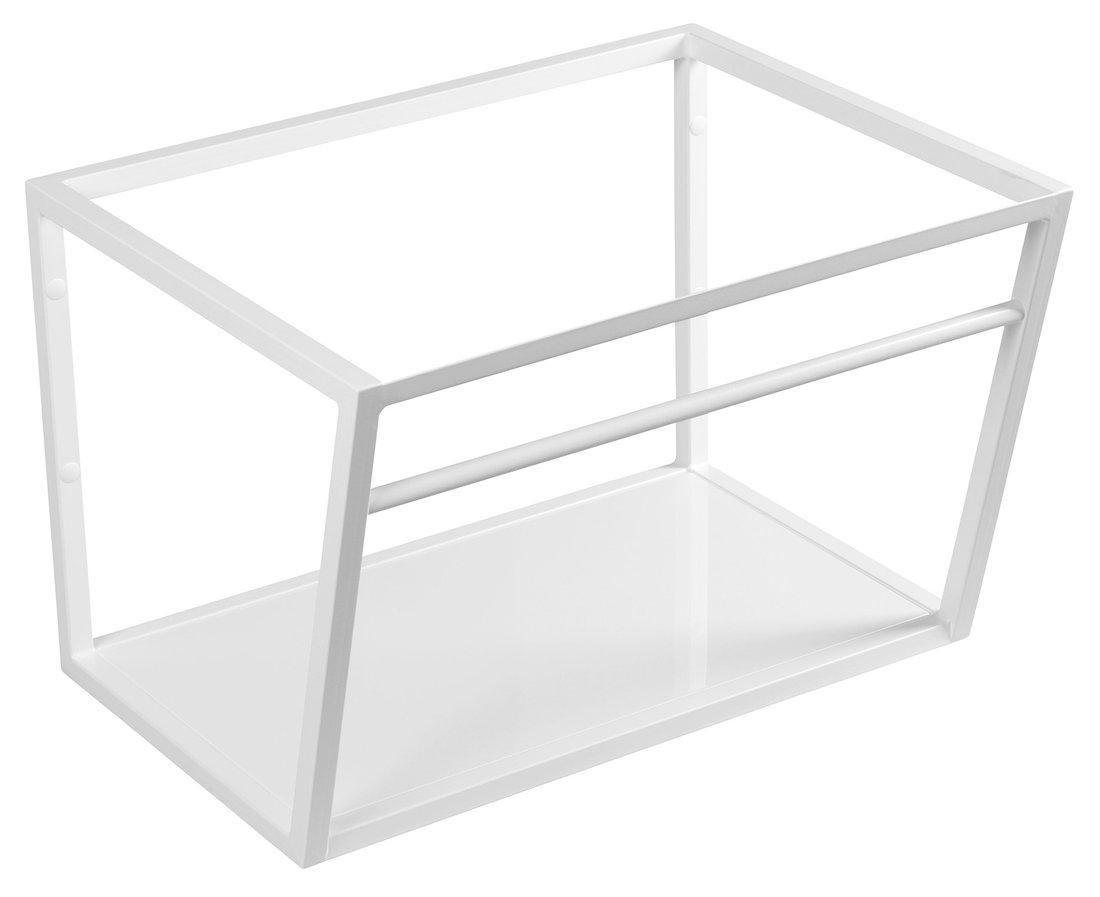 Sapho Industrial wastafel frame mat wit 60cm