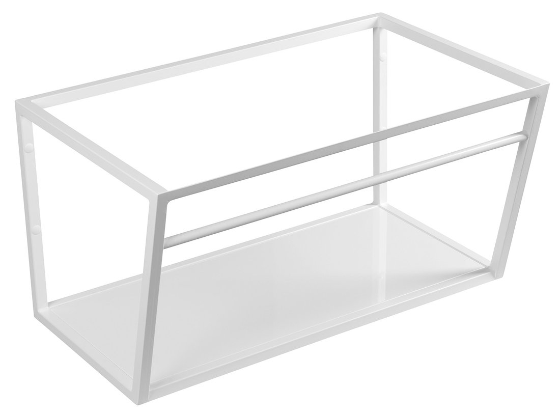 Sapho Industrial wastafel frame mat wit 75cm