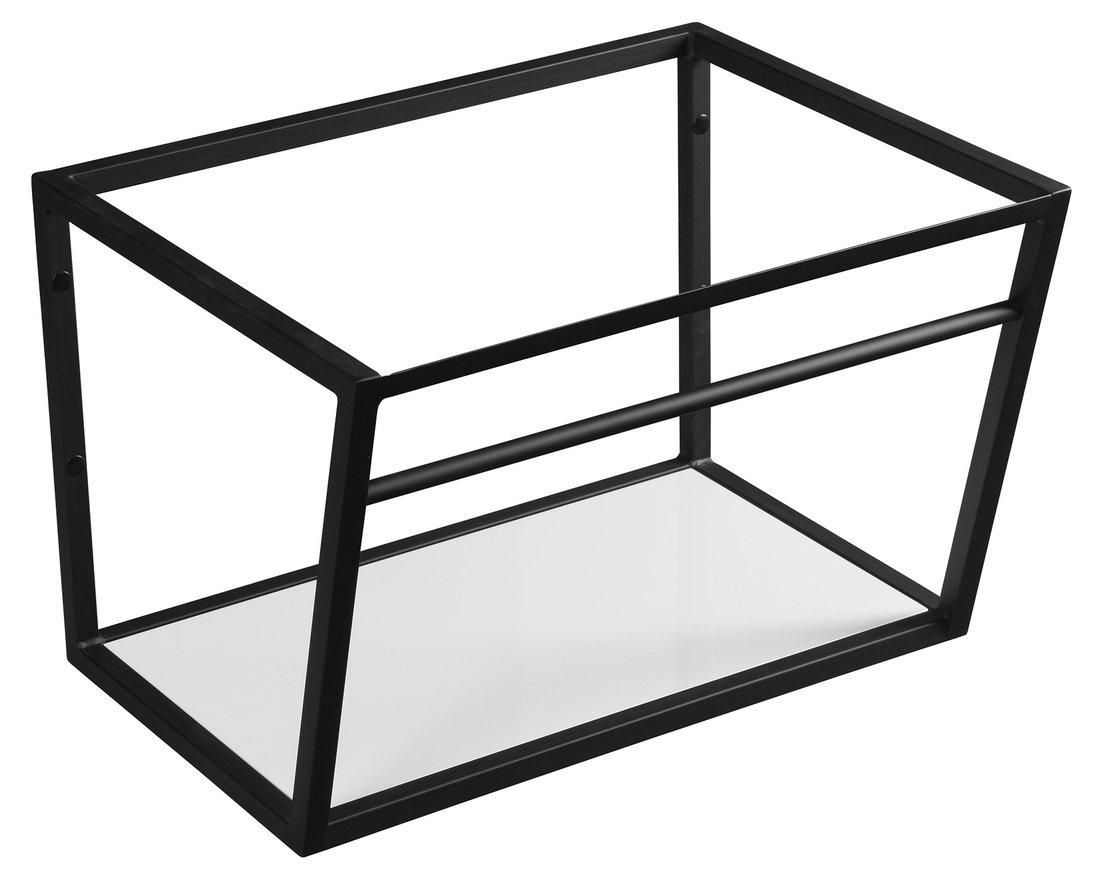 Sapho Industrial wastafel frame mat zwart 60cm