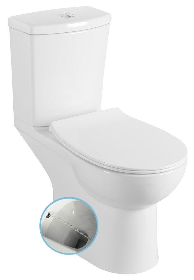 Productafbeelding van Sapho Kario staande douche wc zonder zitting wit