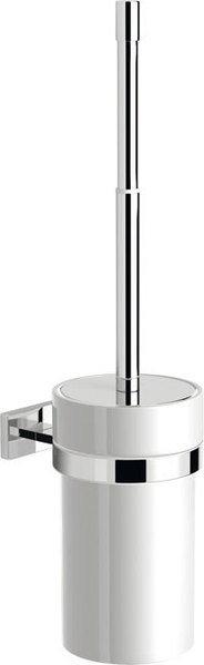 Sapho Olymp hangende toiletborstel met keramische bak chroom