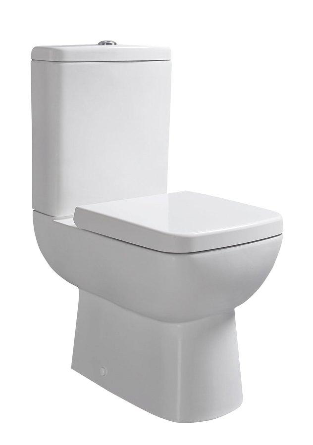 Sapho Tyana duoblok toilet keramiek wit