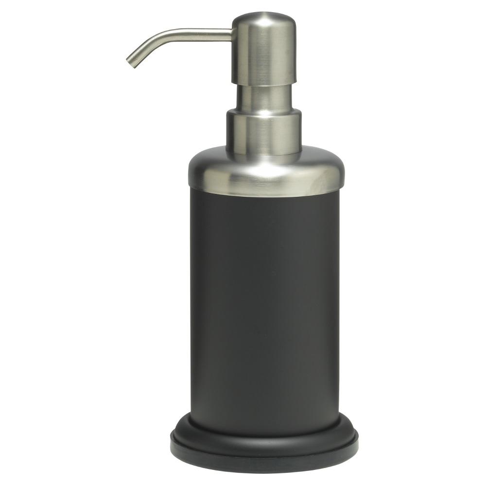 Sealskin Acero zeepdispenser RVS zwart