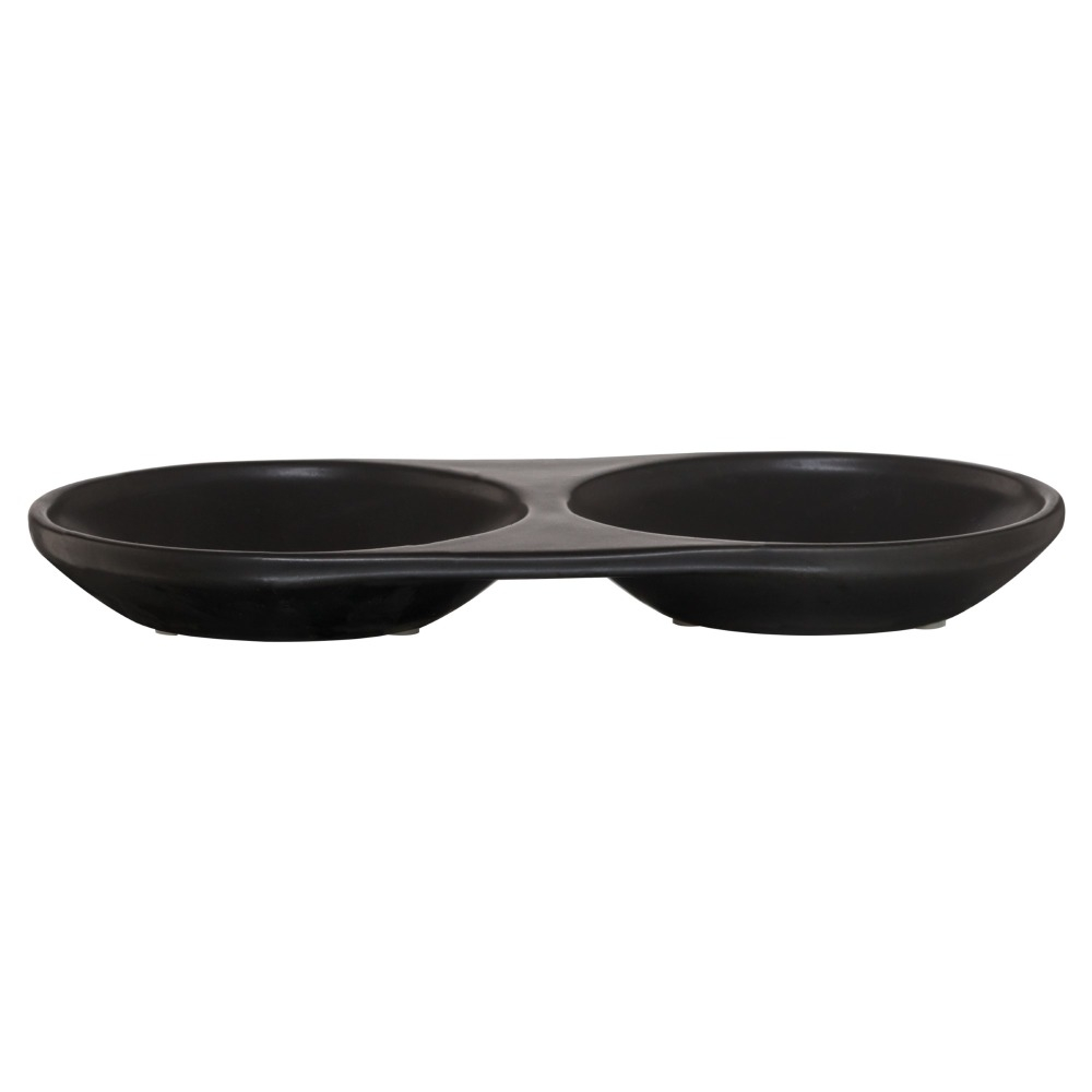 Sealskin Conical schaal porselein zwart