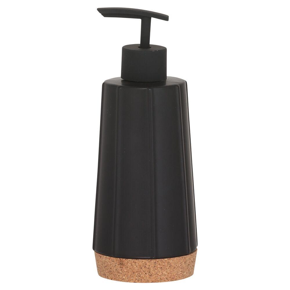 Sealskin Cork zeepdispenser zwart