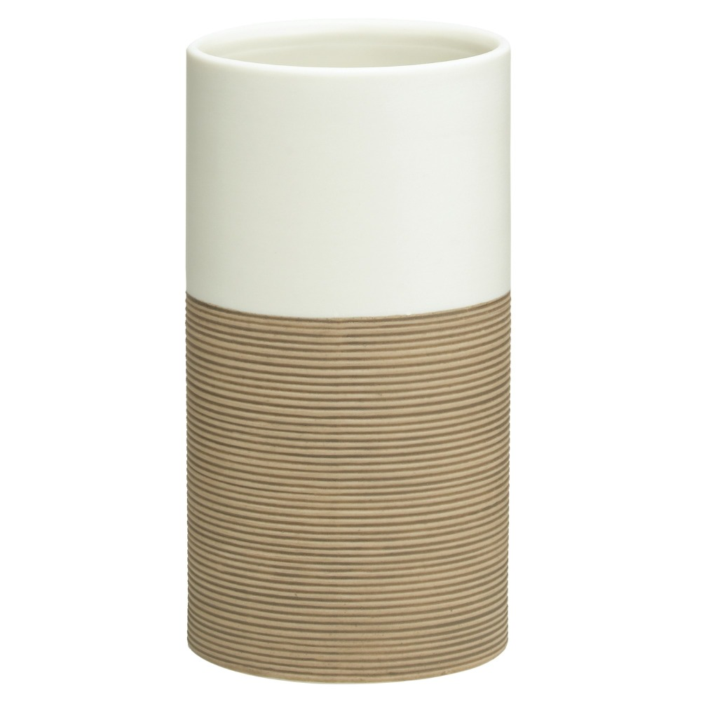 Sealskin Doppio+ beker porcelein zand