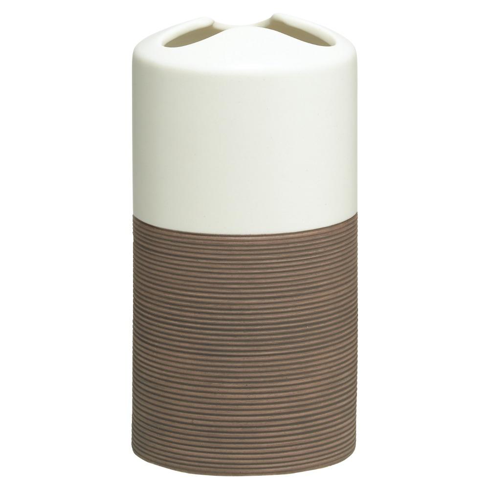 Sealskin Doppio+ tandenborstelhouder porcelein bruin