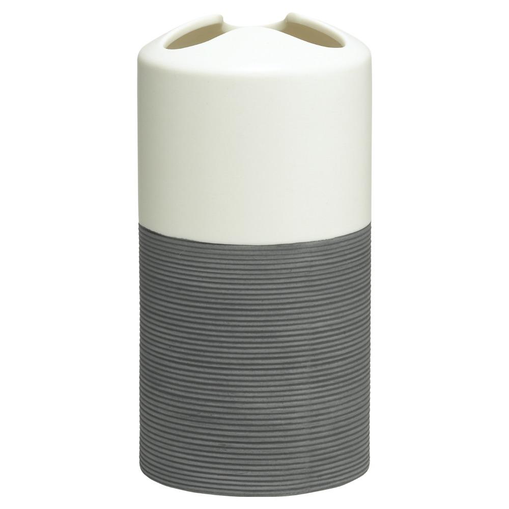 Sealskin Doppio+ tandenborstelhouder porcelein grijs
