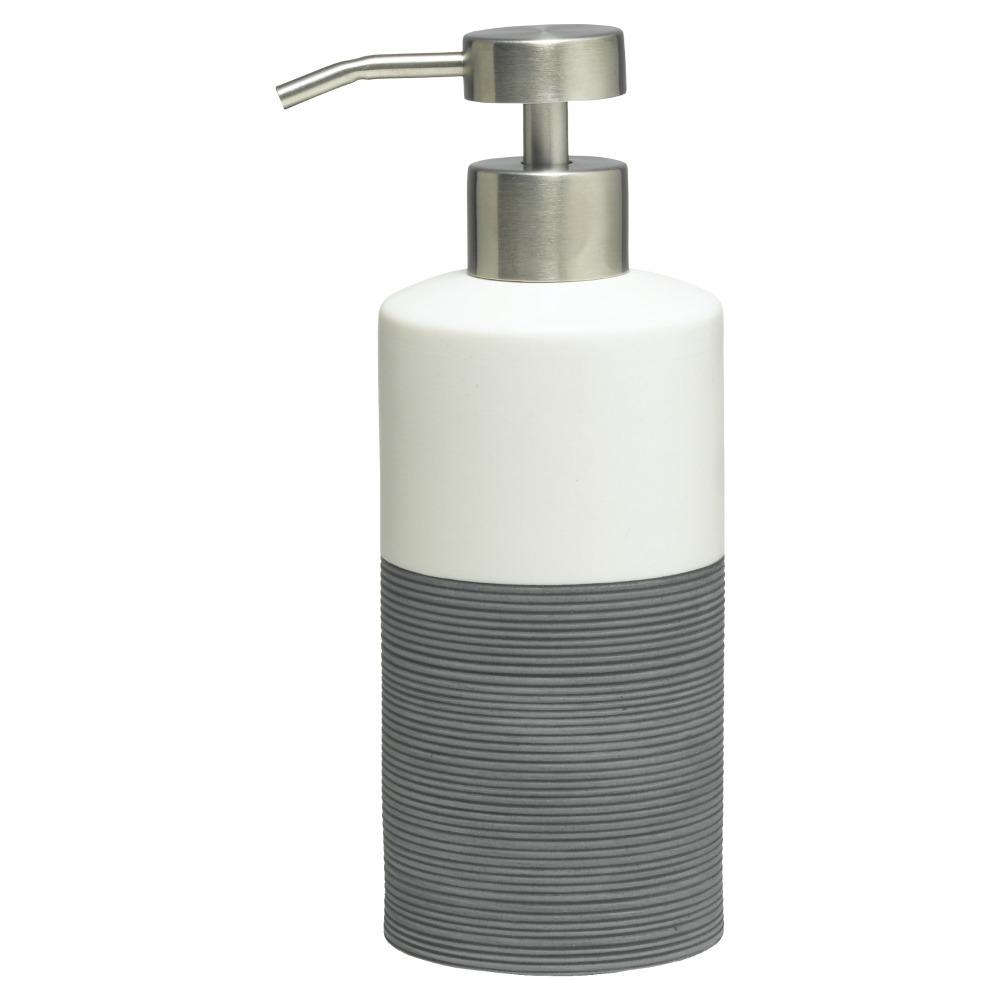 Sealskin Doppio+ zeepdispenser porcelein grijs
